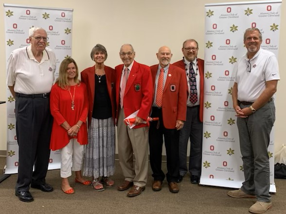 Past presidents of the Cleveland Alumni Club